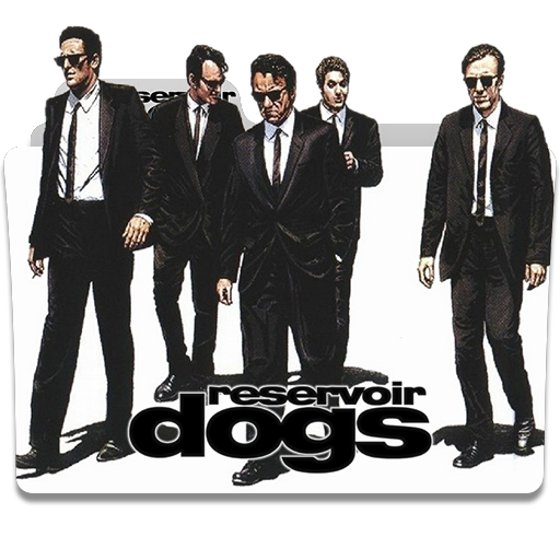 Reservoir dogs png. Folder icon by humbertog