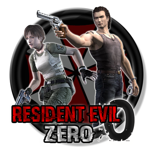 Resident evil 0 icon png. Zero circle by wesleysouji