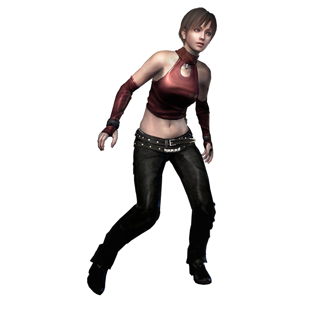 Resident evil 0 png. Image rebecca leather costume