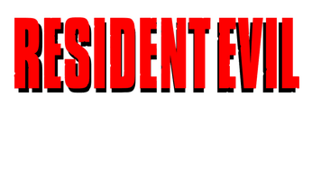 Resident evil 1 logo png. There s something about