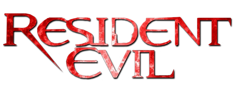 Image movie database wiki. Resident evil 1 logo png clip black and white library