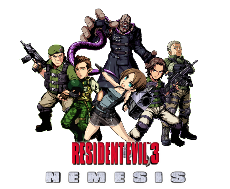 Resident evil 3 png. Nemesis by juniorbunny on