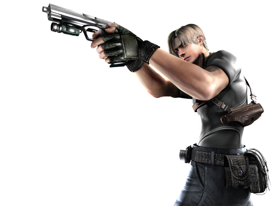 Leon resident evil png. Of render by ileon