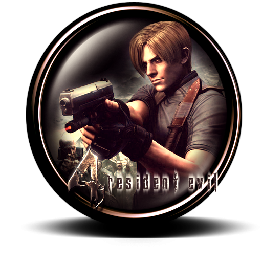 Resident evil 4 png. Icon by vezty on