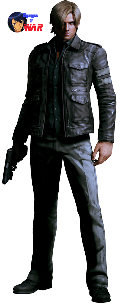 Resident evil 6 leon png. S kennedy render by