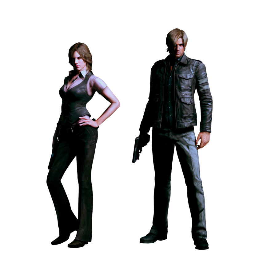 Resident evil 6 leon png. Helena and by ivances