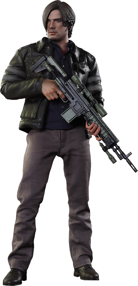 Resident evil 6 leon png. S kennedy statue forum