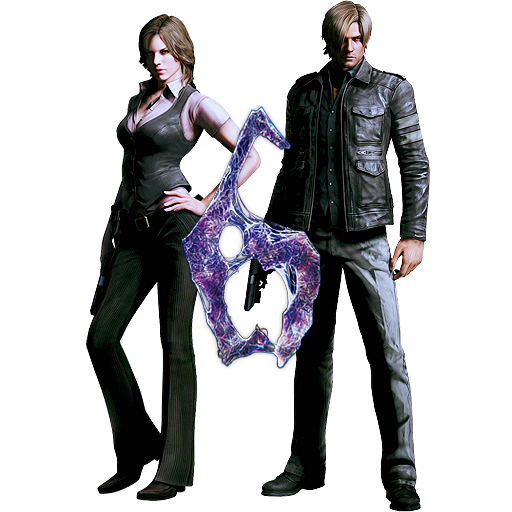 Resident evil 6 png. Helena and leon icon