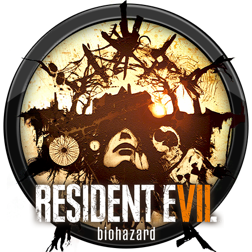 Resident evil 7 logo png. Image biohazard icon by
