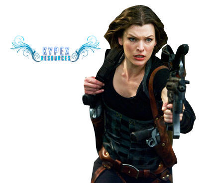 Alice resident evil png. Render by kypexfly on