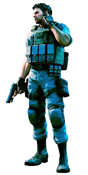 Resident evil chris png. Image lost in nightmares