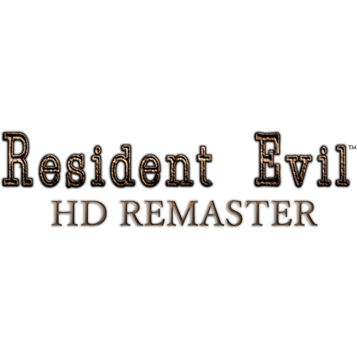 Resident evil hd logo png. Is capcom s best