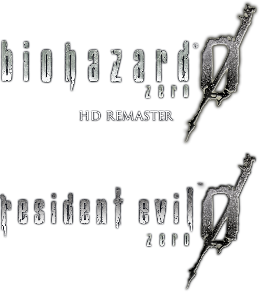Resident evil hd remaster logo png. Re logos by otev