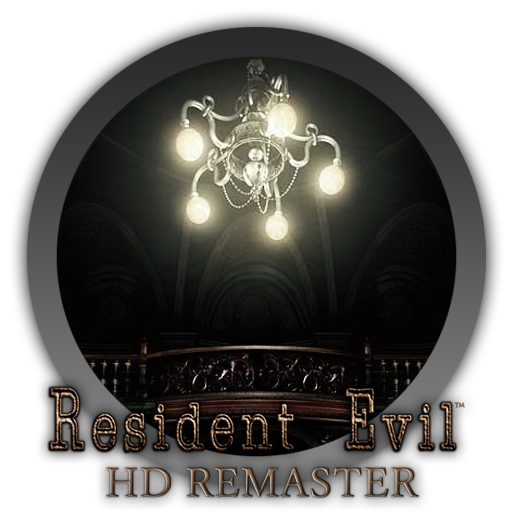 Resident evil hd remaster logo png. Icon by blagoicons on