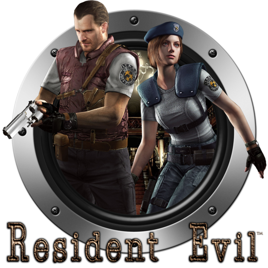 Resident evil hd remaster logo png. By alexcpu on deviantart