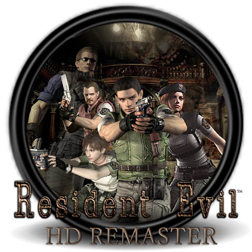 Resident evil hd remaster logo png. By christian on deviantart