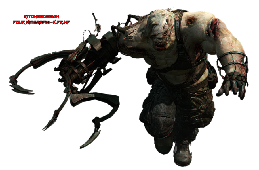 Resident evil nemesis png. By riton design on