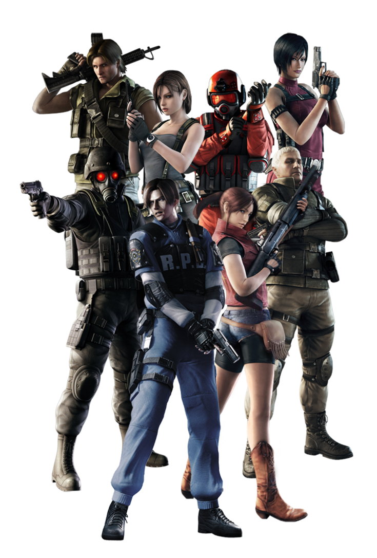 Resident evil png. Operation raccoon city by