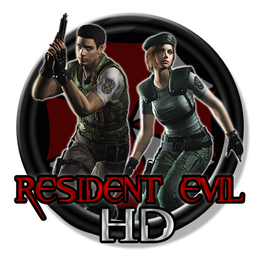 Resident evil remake logo png. Hd icon circle by