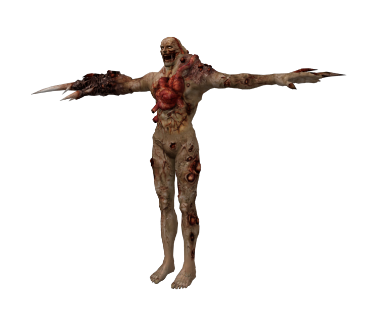 Resident evil tyrant png. Gamecube the models resource