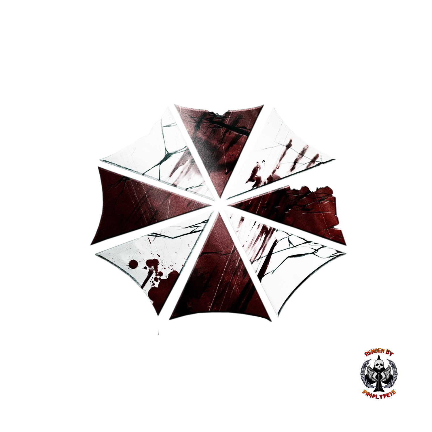 Resident evil umbrella png. Corporation logo by pimplypete