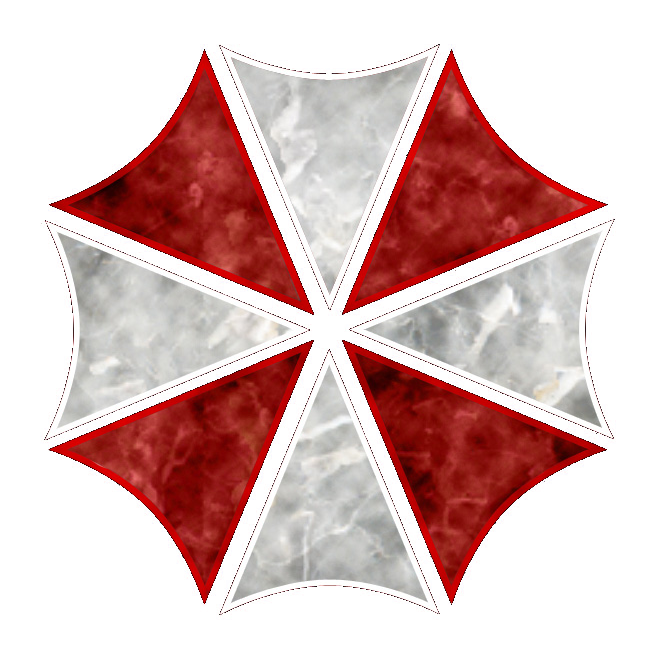 Resident evil umbrella png. Trans by slavewolfy on