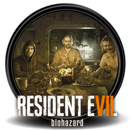Resident evil vii logo png. Icon by malfacio on