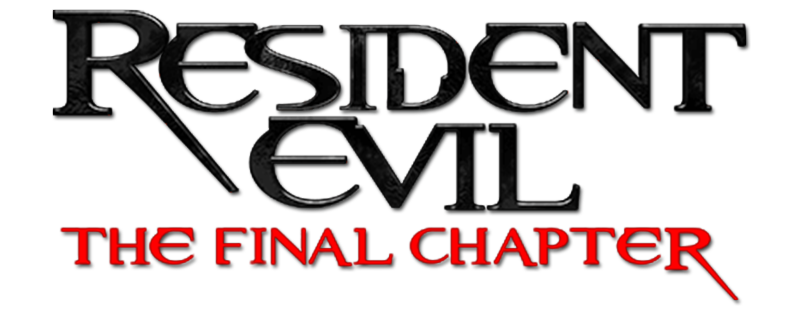 Resident evil vii logo png. The final chapter movie