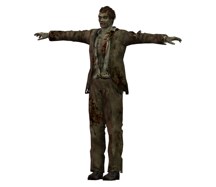 Resident evil zombie png. Gamecube the models resource