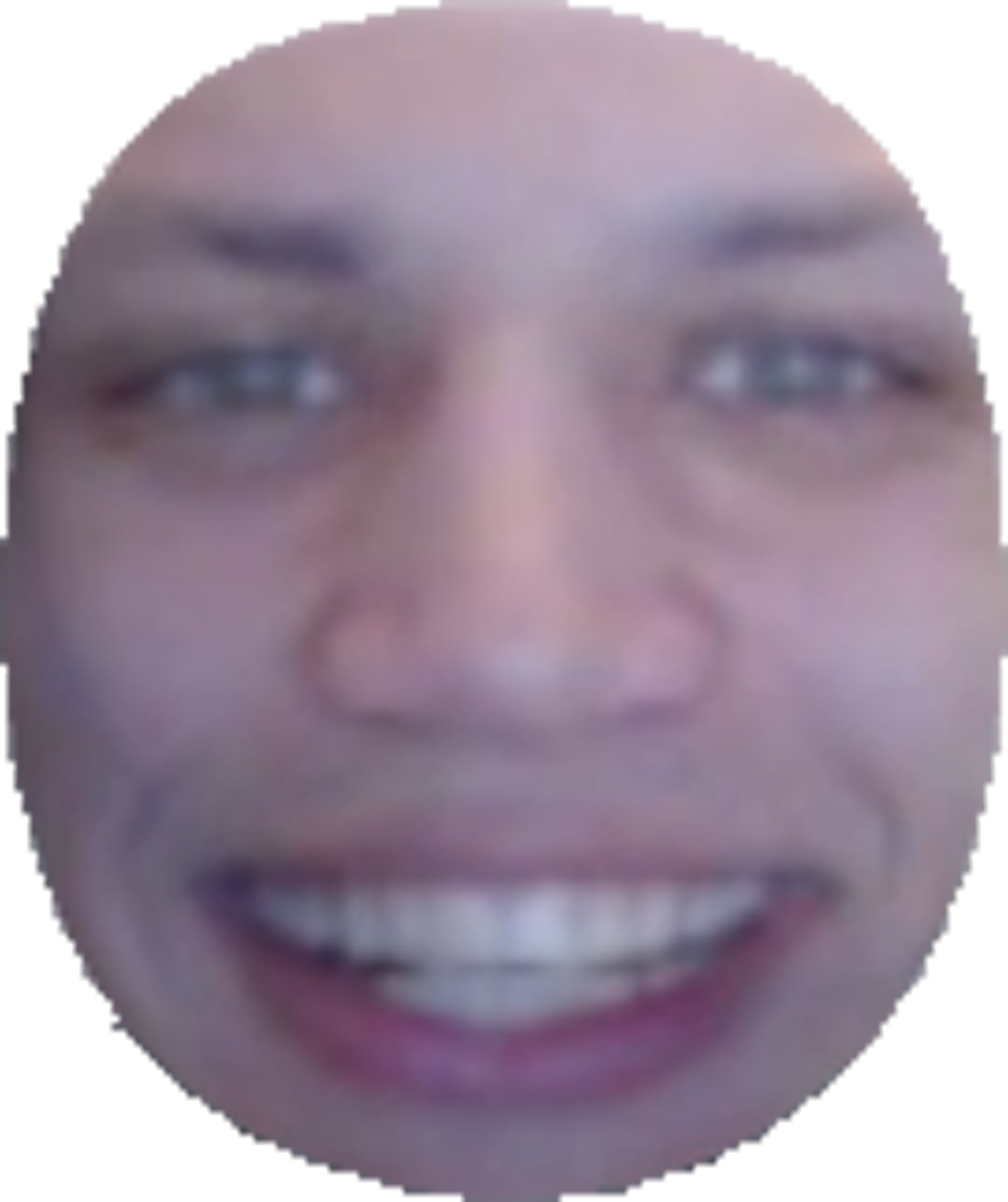 Tyler head imgur tylerhead. Transparent emotes 4head clipart black and white stock