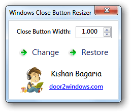Resize png windows. Close button resizer s