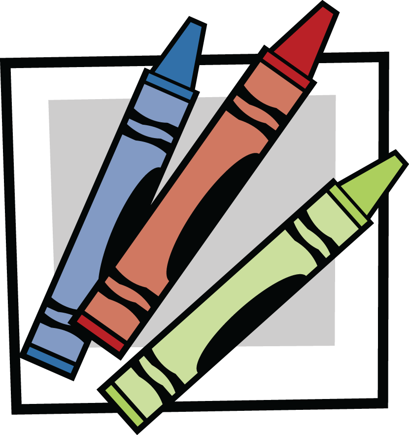Crayons transparent animated. Free resource clipart download