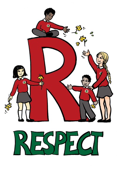 Respect clipart. Children showing free images