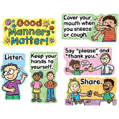 Respect clipart kindness. Good manners