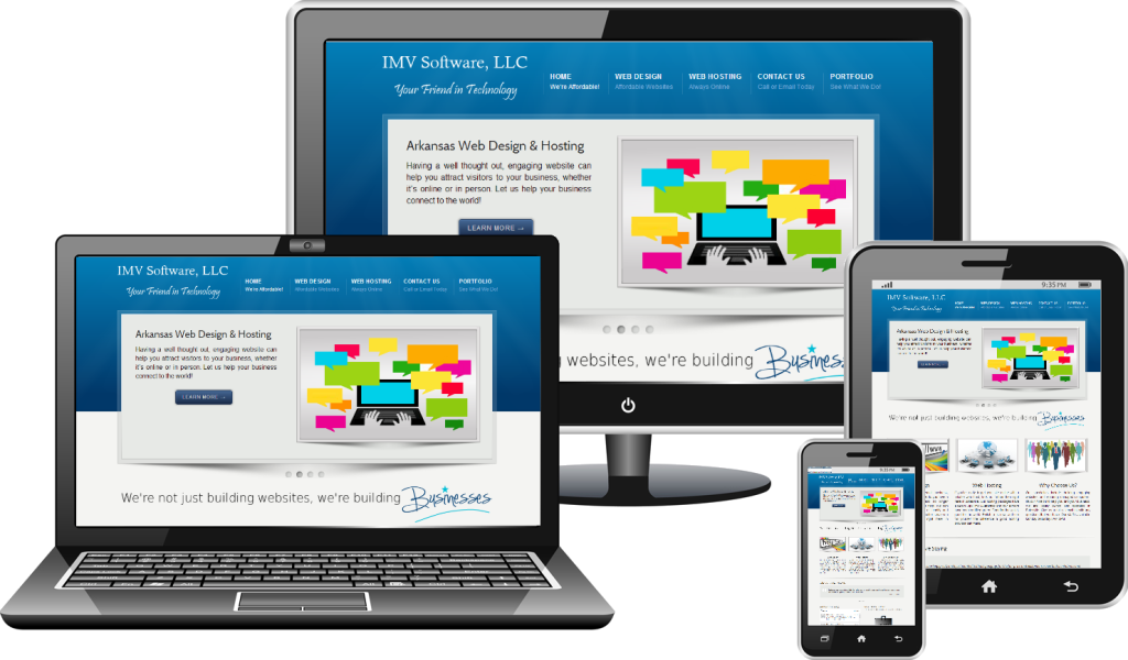 Responsive website png. Three reasons for websites
