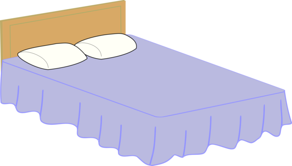 Rest clipart childrens bed. Bedroom mattress size free