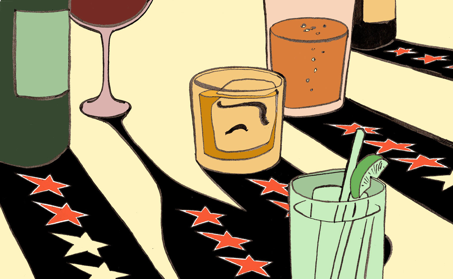 Restaurant clipart restaurant review. Punch why are wine