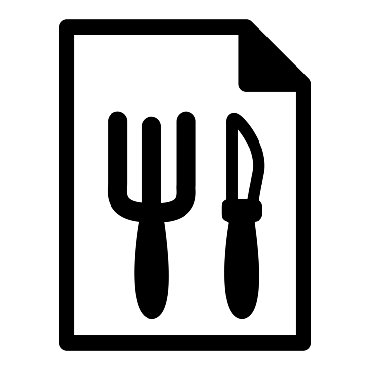 Restaurant food cart computer. Catering clipart svg black and white library