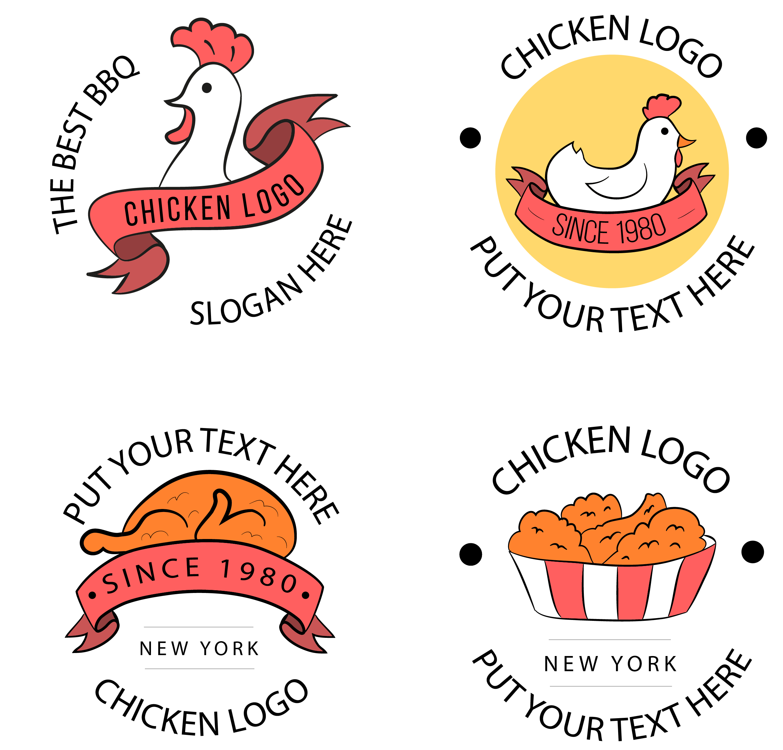 Restaurants clipart. Fast food logos images