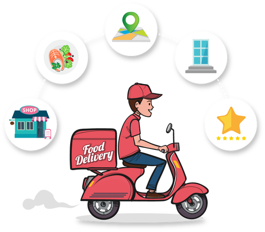 Food delivery png. Why your restaurant need