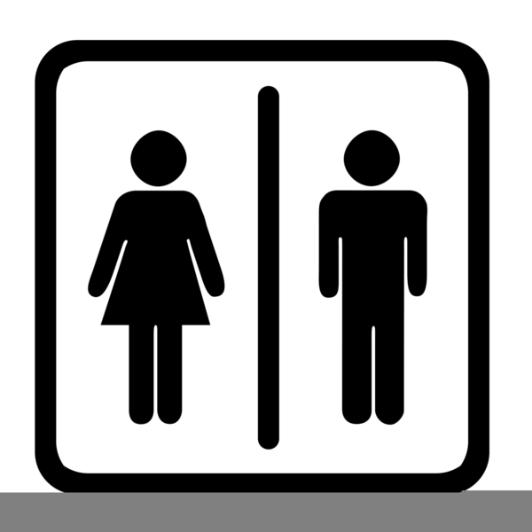 Restroom clipart. Universal free images at