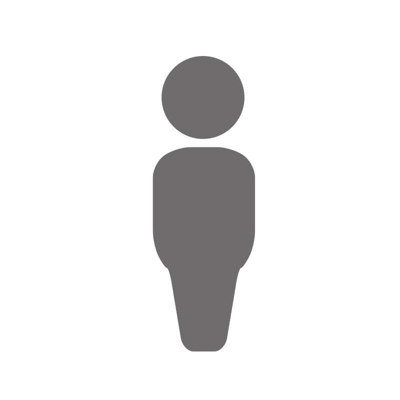 Transparent hitler silhouette. Free generic person icon