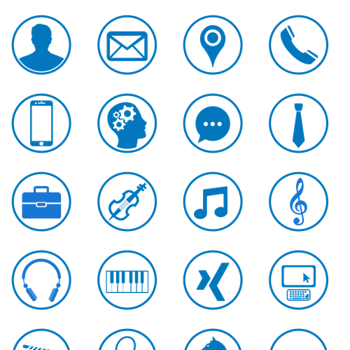 Resume Icons Png Modern For Personal
