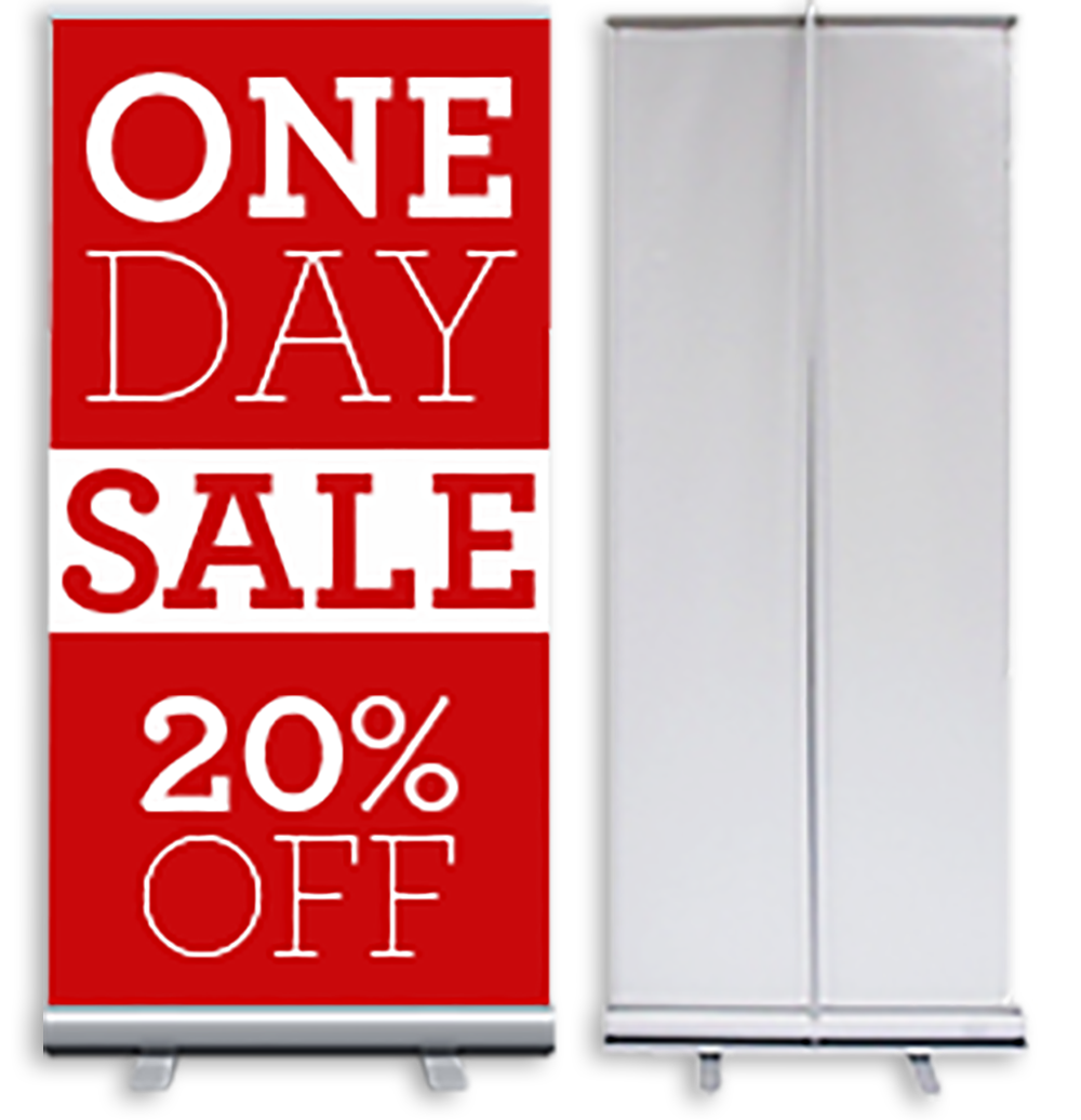retractable banner png