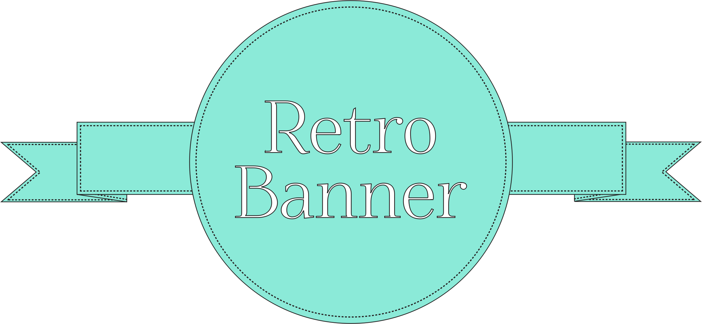 Retro banner png. Reupload icons free and