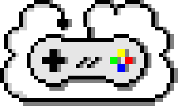 Retro gaming png. Cloud home