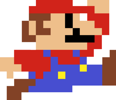 Drawing Pixel Mario Transparent Png Clipart Free Download