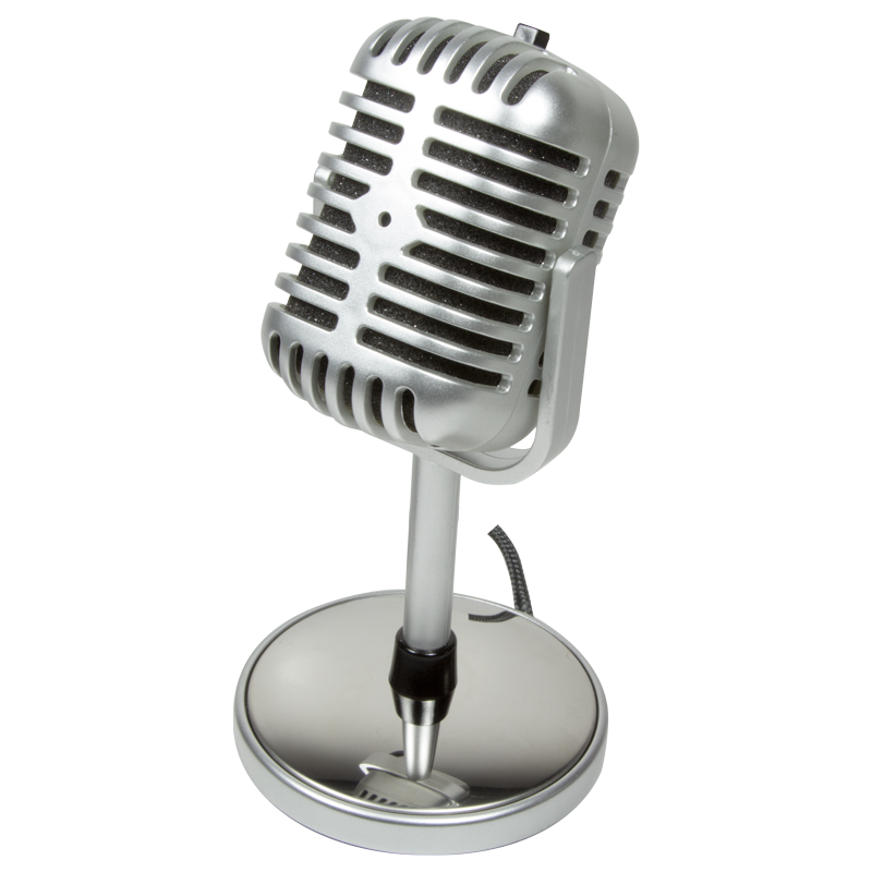 Retro microphone png. Pc akme hs style