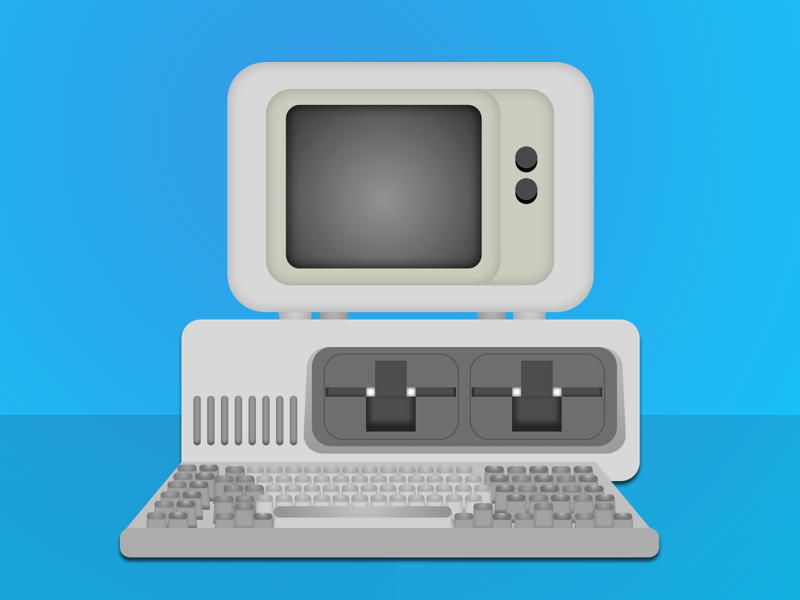 Retro pc png. Old by janina dribbble