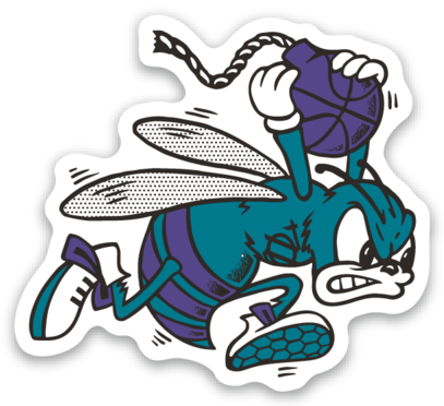Retro sticker png. Shop hornet